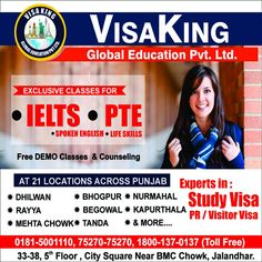 VISA KING – Visa Immigration Consultants in Jalandhar Punjab