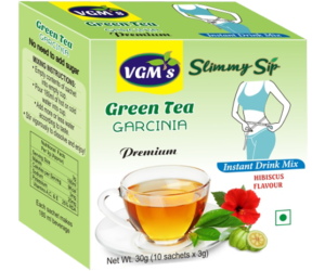 Buy Green Coffee, Green Tea with Lemon, Mint, Hibiscus Flavour : VGM