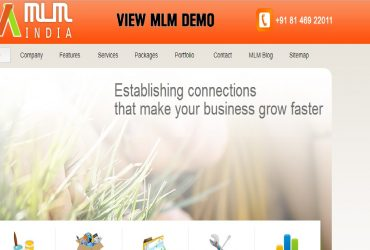 MLM software company, MLM binary website, custom software services in all over ndia