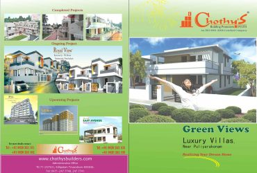 Chothys Green Views Villas@Puliyarakonam, Trivandrum