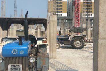 GANMAR Tractor Compressor with breaker demolition contractors in chennai india