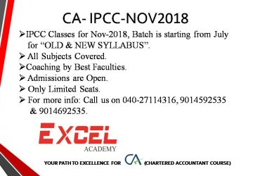 CA-IPCC Coaching by Best Faculties