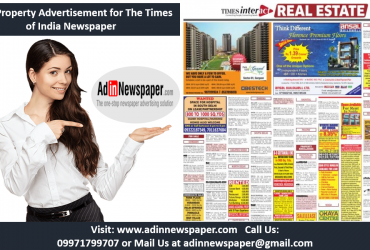 Property Advertisement in Gurgaon Newspapers