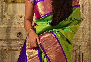 Buy Traditional Kanjivaram Wedding Silk Sarees | Studio Ayana