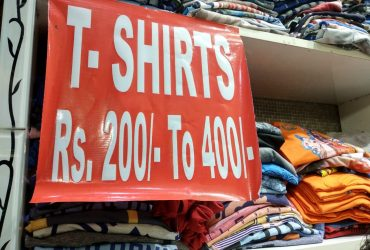 Sale Sale Sale Sale on T Shirts: Buy T Shirts For Men at best prices I Laaj Fashion -Rani Bagh