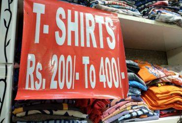 Sale Sale Sale Sale on T Shirts: Buy T Shirts For Men at best prices I Laaj Fashion -Rani Bagh