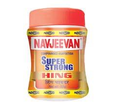 Buy New Premium Yellow Asafoetida Hing Powder from NAVJEEVAN HING