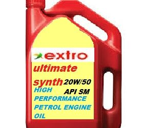 Extro Ultimate Synth 20W/50 SM(High performance engine oil)