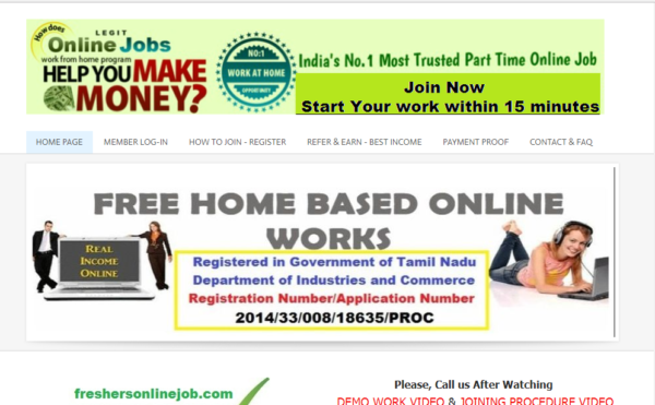 Govt Registered Free Online Works Available – Earn Rs.1000/- Daily From Home