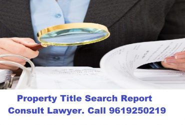 Property Title Search / Property Valuation Lawyer Mumbai 9619250219