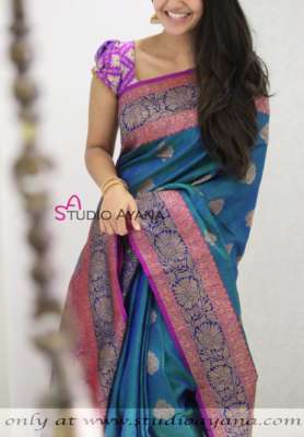 Buy Exclusive Banarasi Silk Sarees | Studio Ayana