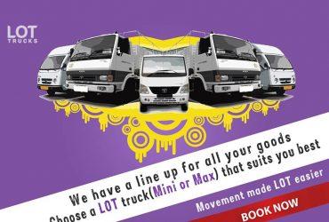 Mini Trucks for Rent Bangalore,Chennai & Hyderabad– Lotrucks.com