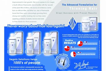 Segals Solutions-Natural Hair care Treatment For All