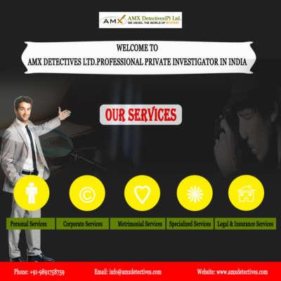 Best and Cheap Private Investigators in Delhi-India || AMX Detectives