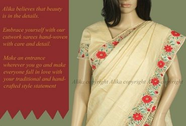 Desi Tussar Silk Saree