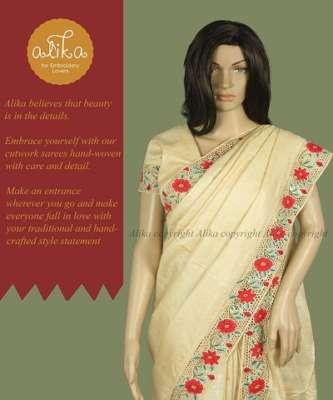 Desi Tussar Silk Saree
