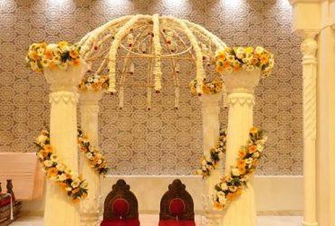 Elegant banquet hall in Delhi
