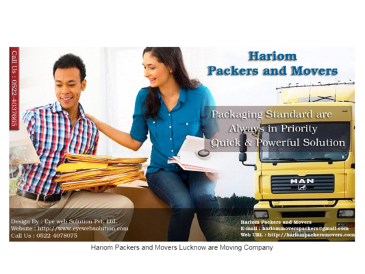 Welcome to Hariom Packers and Movers Ludhiana.
