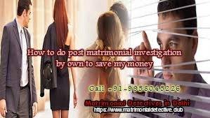 Matrimonial Best Detective Agency in Delhi