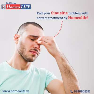 Homeopathic Treatment For Sinusitis   Types of Sinusitis – Homeolife