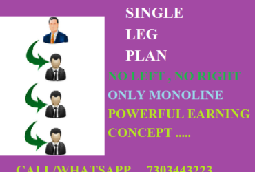 Just Launched… New Launching Single Leg Plan