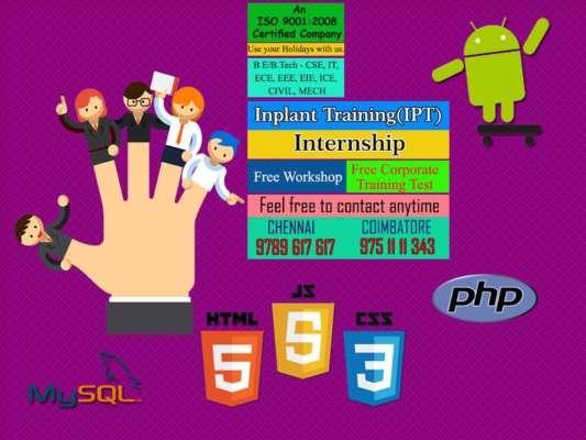 best internship inchennai
