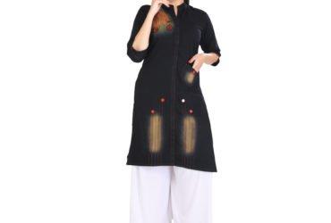 Buy Designer Cotton Kurtis from Pramukh Creation