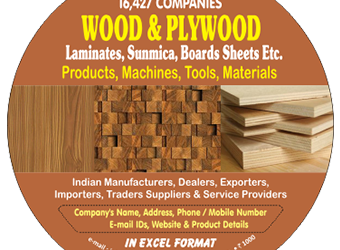 16,427 Companies – Wood & Plywood Laminates, Sunmica, Boards Sheets etc. Products, Machines, Tools & Materials