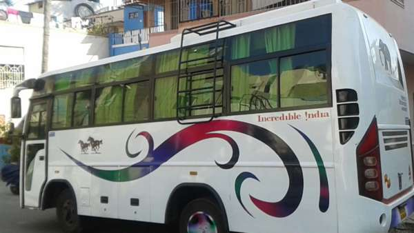 21 seater bus rentals in bangalore || 21 seater bus hire in bangalore || 09019944459