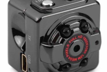 Spy Mini DV Full HD pinhole Night Vision Audio Video Recorder Camera
