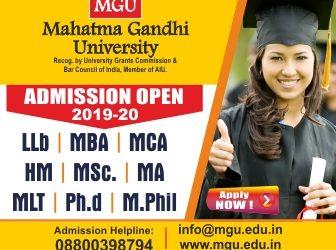 Management course available at MGU University 2019