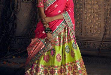 Looking to buy ethnic lehenga choli? Visit Mirraw