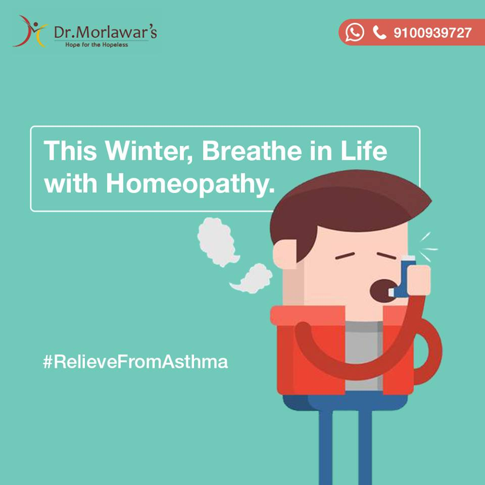 Homeopathy treatment for asthma – Dr Morlawars