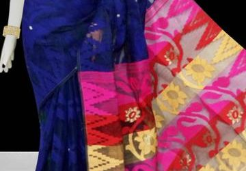 Get 10 percent  Discount On All Jamdani Saree .