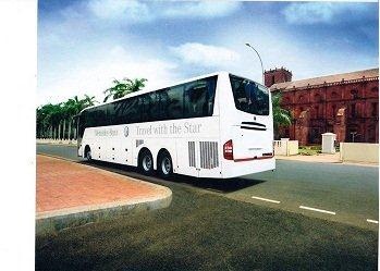Mercedes benz bus hire in bangalore || mercedes benz bus rentals in bangalore || 09019944459