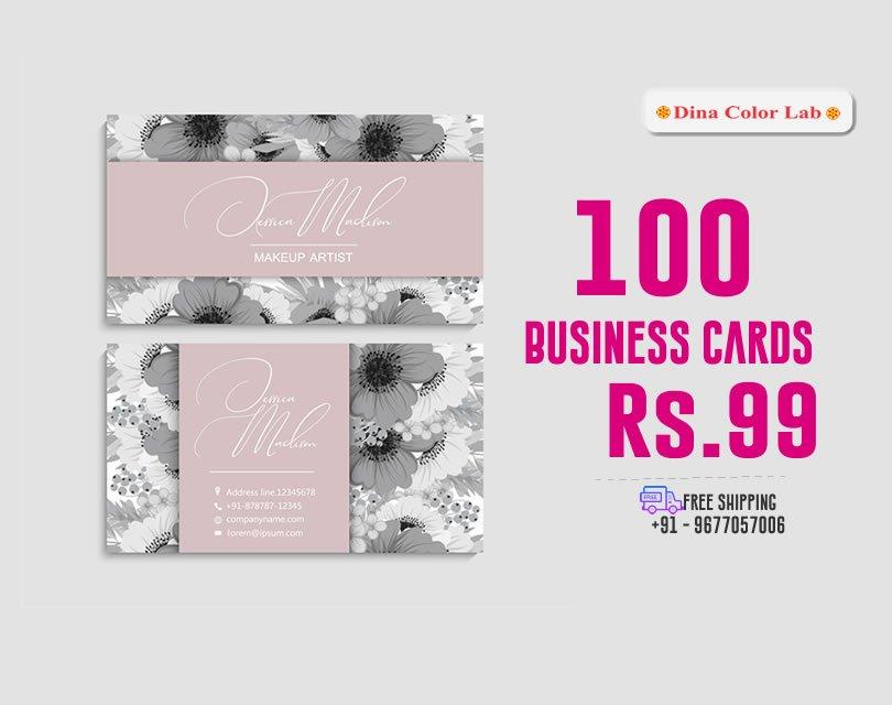 visiting card printing in chennai tamilnadu india