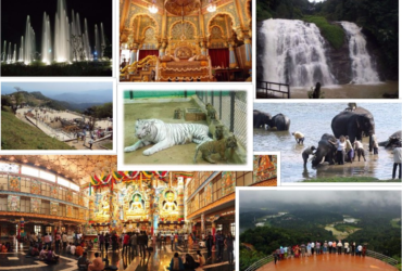 Bangalore ,Mysore and Coorg Package Tour ( 3 Nights and 4 Days ) Car & Hotel Package