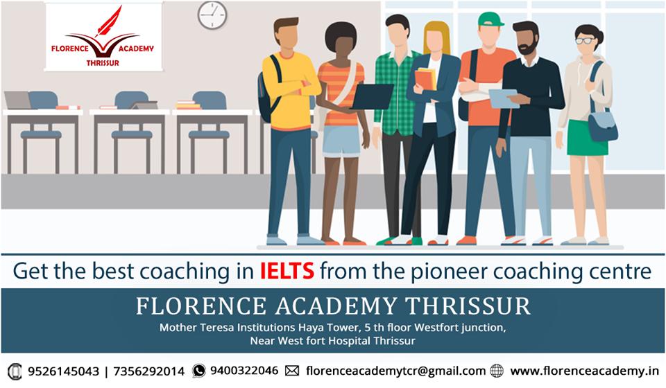 IELTS coaching in thrissur   Nursing Coaching Centers In Kerala
