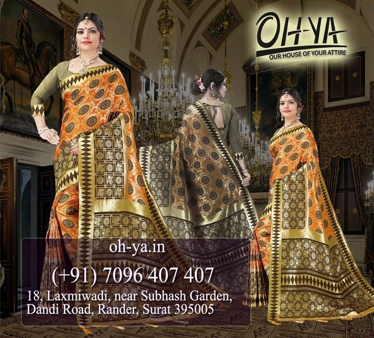 Heavy Range Banarasi Saree | Banarasi Saree online Sale – OHYA