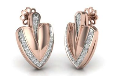 Rose Gold Earrings Designs