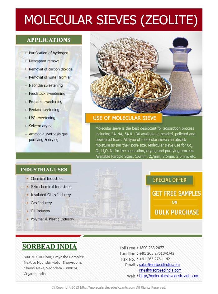 Molecular Sieve Brochure –  Sorbead India
