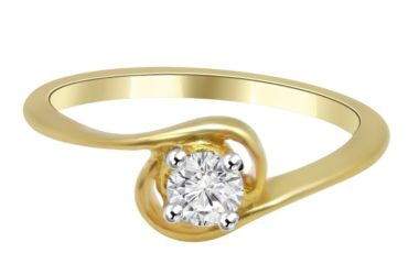 Diamond and Moissanite Ring in Durgajewels – Hyderabad