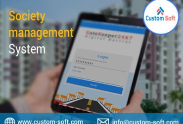 Society Management Software by CustomSoft