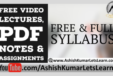 Relations and Functions Class 11 Maths – Ashish Kumar Lets Learn