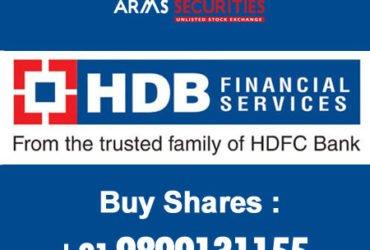 buy hdb financial shares