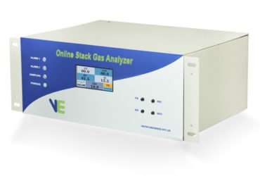 Stack gas analysers
