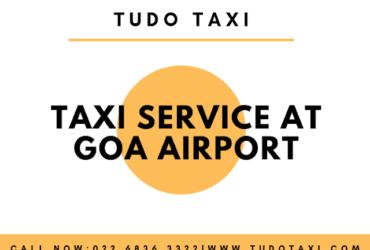Goa Airport Taxi Service – Tudo Taxi