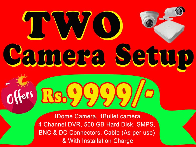 CCTV Security Camera Installation Service Bhubaneswar
