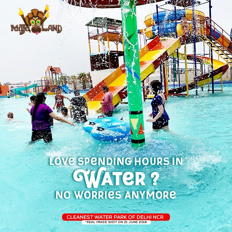 Splash Water Park near Delhi NCR   Best Water Park near Me – MoJoLand