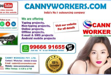 Part Time jobs in . Canny Workers Pvt Ltd. Visit our website. CANNYWORKERS COM